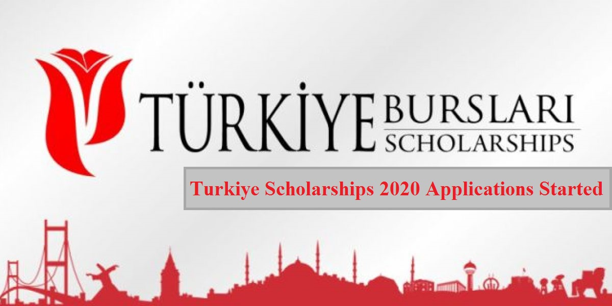 Turkiye Scholarships 2020 Applications Started